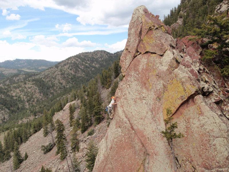 Rock Climbing Photo: Moonlight Drive P2.