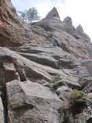 Rock Climbing Photo: Roth heading up Who? Who?