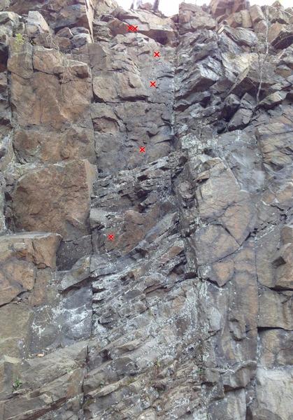 Rock Climbing Photo: Liken' the Lichen