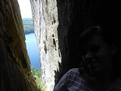 Rock Climbing Photo: Somewhere in Maine...