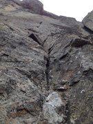 Rock Climbing Photo: Diligente Indigène