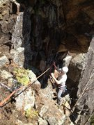 Rock Climbing Photo: Traverse du Bardache