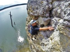 Rock Climbing Photo: After years of wondering if anyone else would appr...
