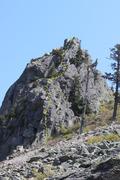 Rock Climbing Photo: SW Buttress route topo