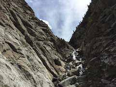 Rock Climbing Photo: This is what the runoff looks like the first week ...