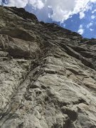 Rock Climbing Photo: A view of the line. If setting a top rope I'd reco...