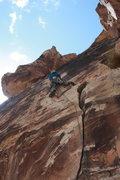 Rock Climbing Photo: Pitch #1 is SOOO good!
