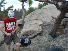 Rock Climbing Photo: Shawn Bunnell Packing up