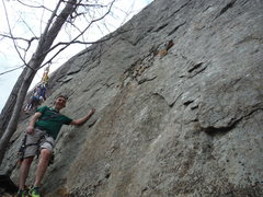 Rock Climbing Photo: After the ascent, psyched to have not died.