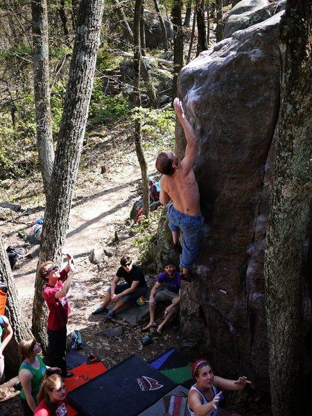 Rock Climbing Photo: Egghead, photo satermo