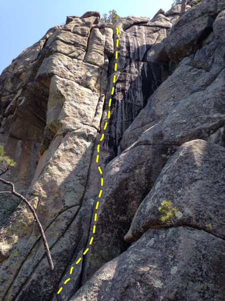Rock Climbing Photo: Raspberry Belay
