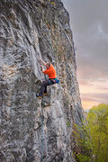 Rock Climbing Photo: If only the rest of the limestone in the canyon co...