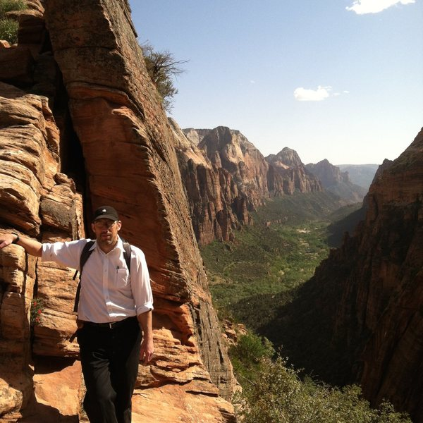 Rock Climbing Photo: Angel's Landing, Zion