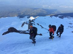 Rock Climbing Photo: casaval ridge, shasta