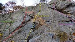 Rock Climbing Photo: Needlepoint Beta Photo