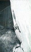 Rock Climbing Photo: Scott Franklin on-sighting The Acid Crack (5.12d),...