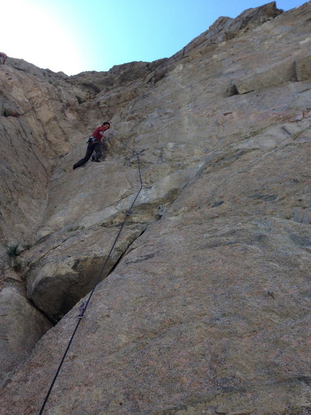 Diego warming up on Delusions, 11b...?