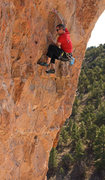 Rock Climbing Photo: Passing the technical crux Once Upon a Time (5.11c...