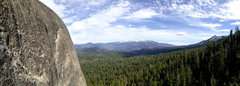 Rock Climbing Photo: Brian Sims on El Grande. 5.10b Photo By- Kash Dier...