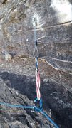 Rock Climbing Photo: Ran out of Carrot Bolt Hangers