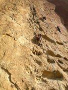 Rock Climbing Photo: Fun lead!