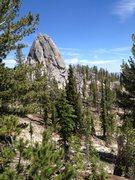 Rock Climbing Photo: Near the Needles
