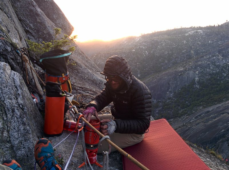 12 o' clock ledge bivy