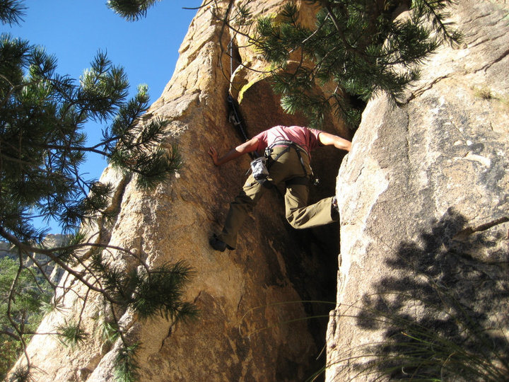 Rock Climbing Photo: Mt. Lemon in AZ