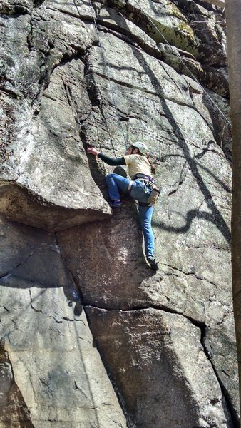 First climb