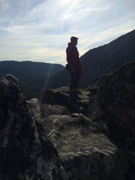 Rock Climbing Photo: after a warmup run