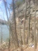 Rock Climbing Photo: Top-roping Whinerlamer