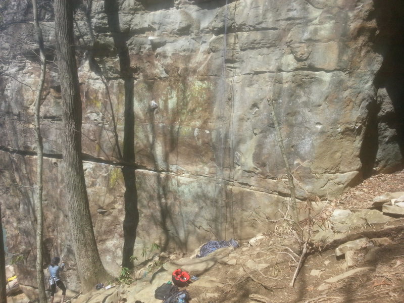 Rock Climbing Photo: For reference, here is Jowiki on the right, and Wh...