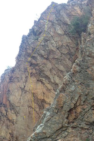 Rock Climbing Photo: Dionysius Thrax
