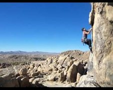 Rock Climbing Photo: Fun and diverse climb, starts slabby and ends jugg...