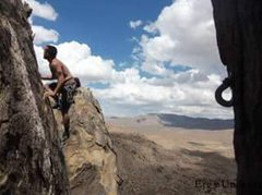 Rock Climbing Photo: No idea what this one was but was fun as usual. So...