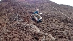 Rock Climbing Photo: Great route for getting kids into climbing.