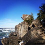 Rock Climbing Photo: Lifeguard.