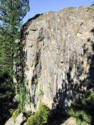 Rock Climbing Photo: B Word right side