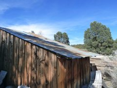 Rock Climbing Photo: Weathered cabin in Big Bear, San Bernardino Mounta...