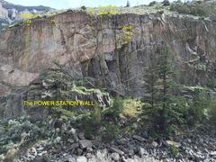 Rock Climbing Photo: The Power Station Wall