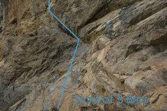 Rock Climbing Photo: Start of 3 Bros