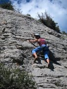 Rock Climbing Photo: Headin' to the anchor of More Cuesties