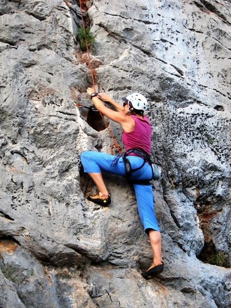 Fun climbing on the Grihander