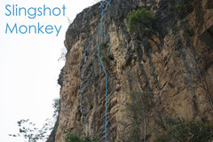 Rock Climbing Photo: Slingshot Monkey