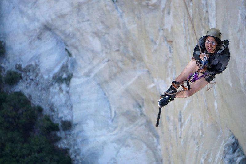 Rock Climbing Photo: Post porch swing
