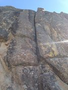Rock Climbing Photo: Raspberry Shortcake