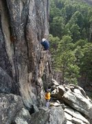 Rock Climbing Photo: 2me enjoying  some cake-