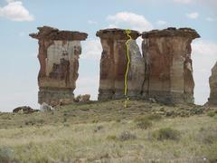 Rock Climbing Photo: OW of Convenience Topo