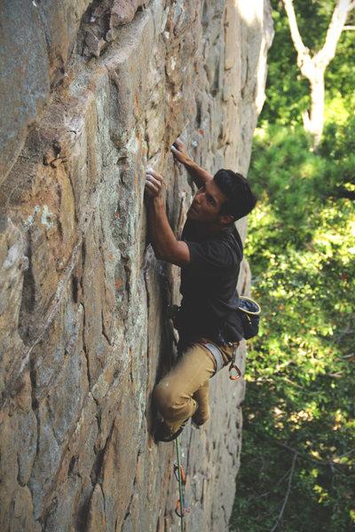 Rock Climbing Photo: Dead Dog 5.11a