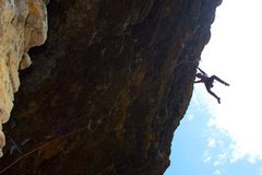 Rock Climbing Photo: getting stung by wasps! besides that a fun experie...